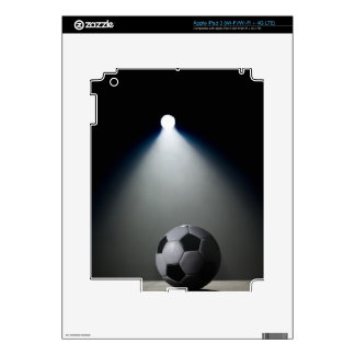 Soccer Ball 2 Decals For iPad 3
