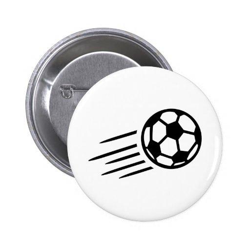 Soccer ball 2 inch round button