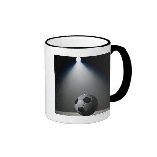 Soccer Ball 2 Ringer Mug