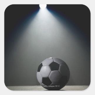 Soccer Ball 2 Square Sticker