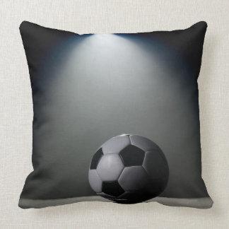 Soccer Ball 2 Throw Pillow