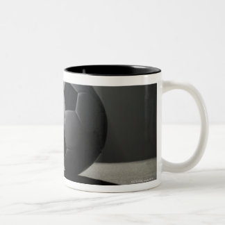Soccer Ball 2 Two-Tone Coffee Mug