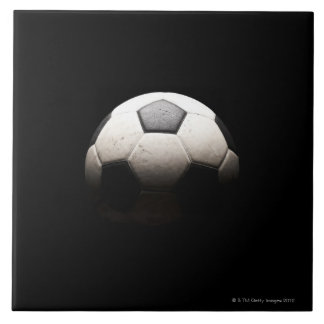Soccer Ball 3 Ceramic Tile