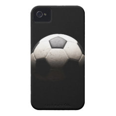 Soccer Ball 3 Iphone 4 Cover at Zazzle