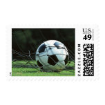 Soccer Ball 3 Postage Stamp