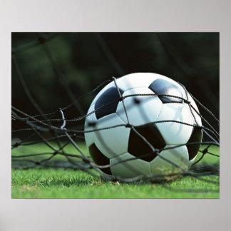 Soccer Ball 3 Poster