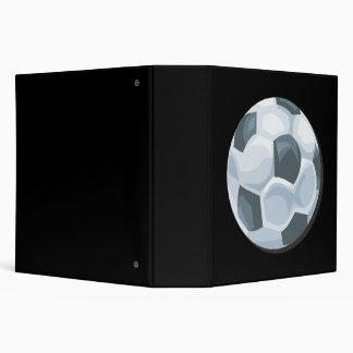 Soccer Ball 3 Ring Binder