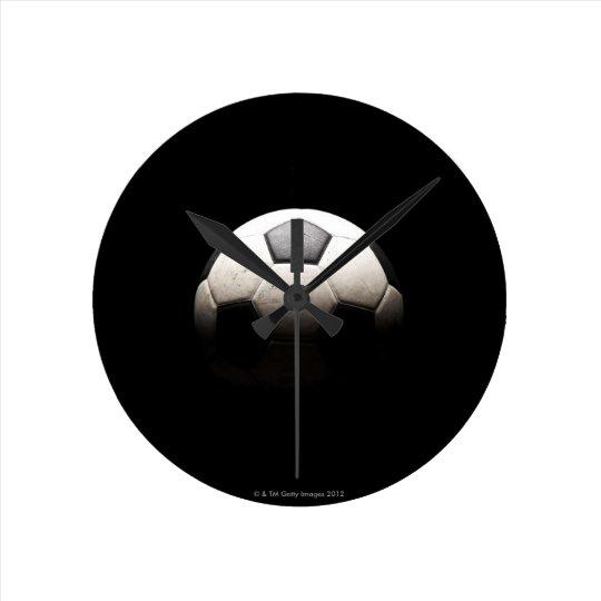 Soccer Ball 3 Round Clock