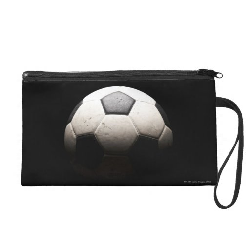 Soccer Ball 3 Wristlet Purse