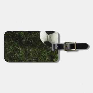Soccer Ball 4 Travel Bag Tags