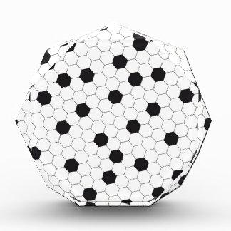 Soccer ball acrylic award