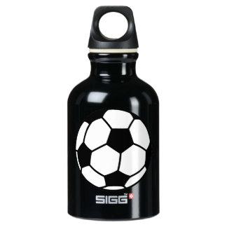 Soccer Ball Aluminum Water Bottle