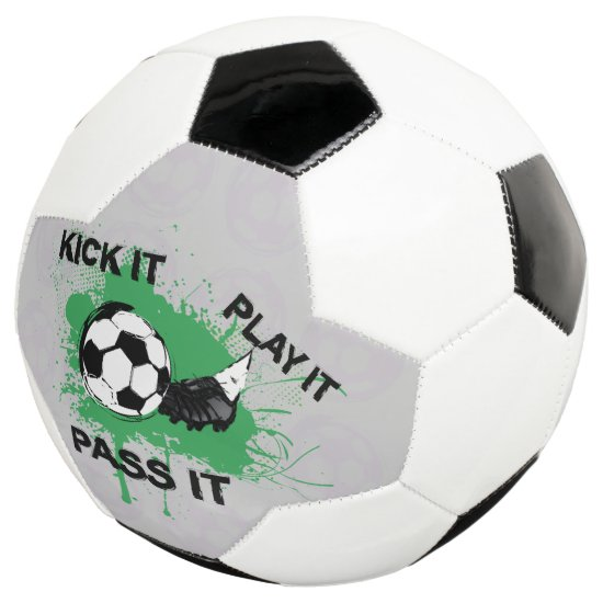 Soccer ball and boot design
