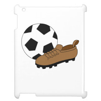 Soccer Ball And Cleat iPad Cases