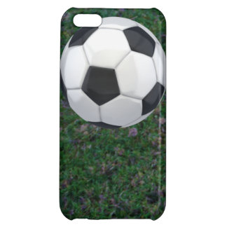 Soccer Ball and Field Personalized Iphone 5 Case