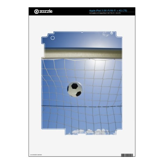 Soccer Ball and Goal 2 iPad 3 Skins