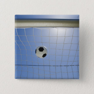 Soccer Ball and Goal 2 Pinback Button