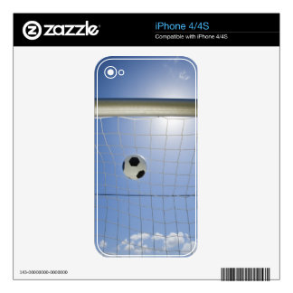 Soccer Ball and Goal 2 Skin For The iPhone 4