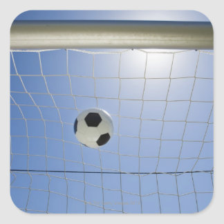 Soccer Ball and Goal 2 Stickers