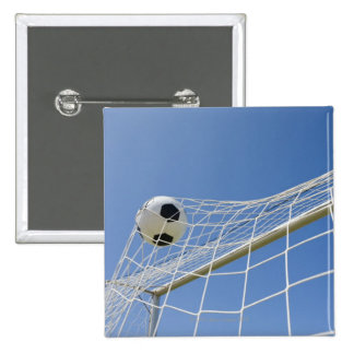 Soccer Ball and Goal 3 Pinback Buttons