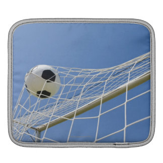 Soccer Ball and Goal 3 Sleeve For iPads