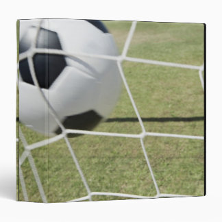 Soccer Ball and Goal Binder