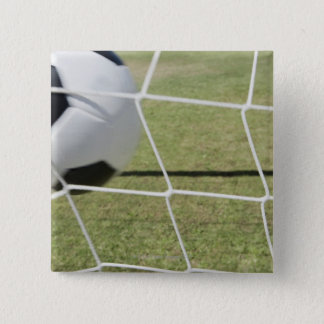 Soccer Ball and Goal Button