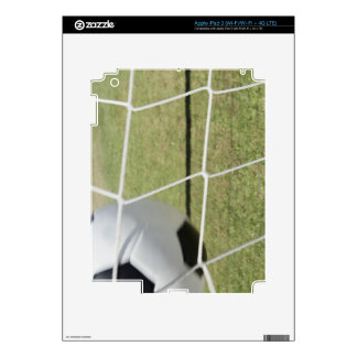 Soccer Ball and Goal Decal For iPad 3
