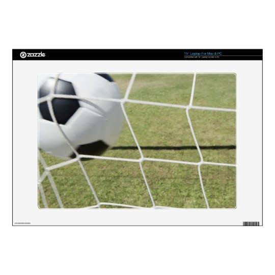 Soccer Ball and Goal Decals For Laptops