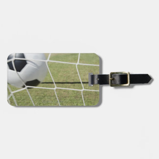 Soccer Ball and Goal Luggage Tag