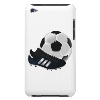 Soccer Ball and Shoe Barely There iPod Covers