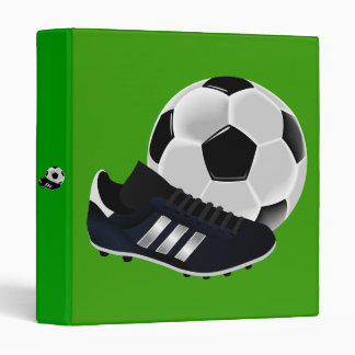 Soccer Ball and Shoe Binder