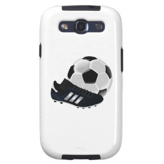 Soccer Ball and Shoe Galaxy S3 Cover