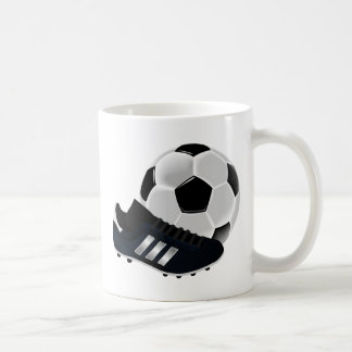 Soccer Ball and Shoe Coffee Mug