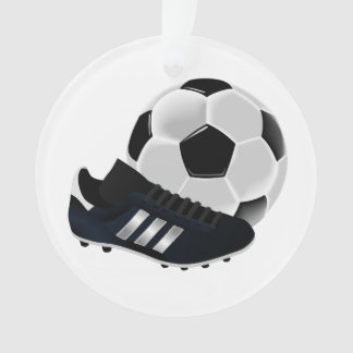 Soccer Ball and Shoe Ornament