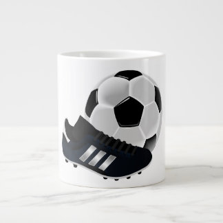 Soccer Ball and Shoe Jumbo Mugs