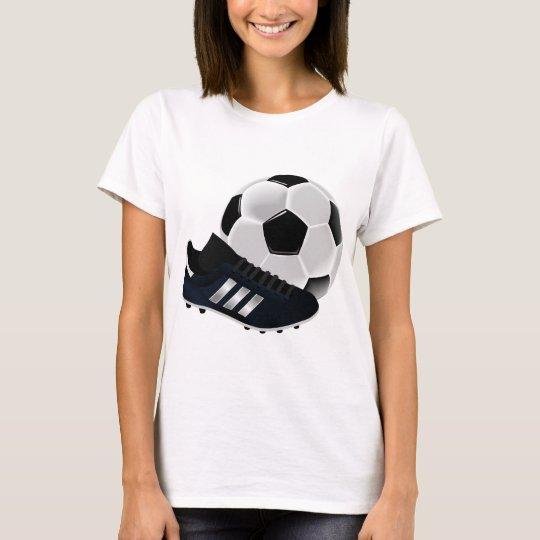 Soccer Ball and Shoe T-Shirt