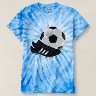 Soccer Ball and Shoe T-shirt