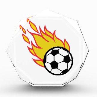 Soccer Ball Appliqué Acrylic Award