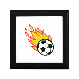 Soccer Ball Appliqué Jewelry Box