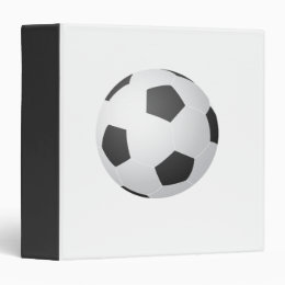 Soccer Ball Avery Binder
