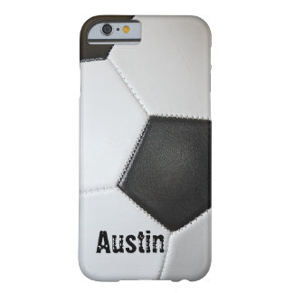 Soccer Ball Barely There iPhone 6 Case