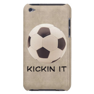 Soccer Ball Barely There iPod Cover
