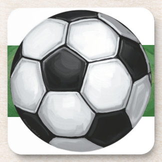 Soccer Ball Beverage Coaster