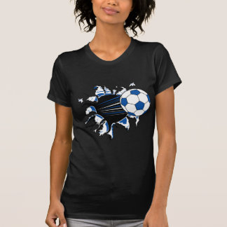 Soccer Ball Burst Tee Shirt