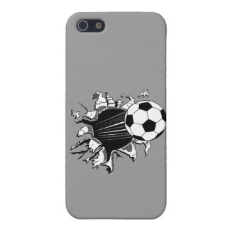 Soccer Ball Busting Out Cover For iPhone SE/5/5s