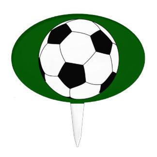 Soccer ball Cake Topper customizable