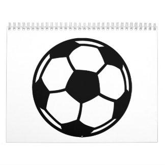 Soccer ball calendar