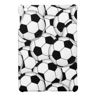 Soccer Ball Callage iPad Mini Cover