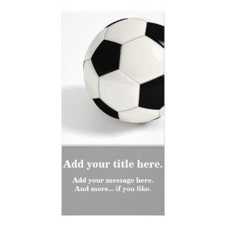 Soccer ball. card